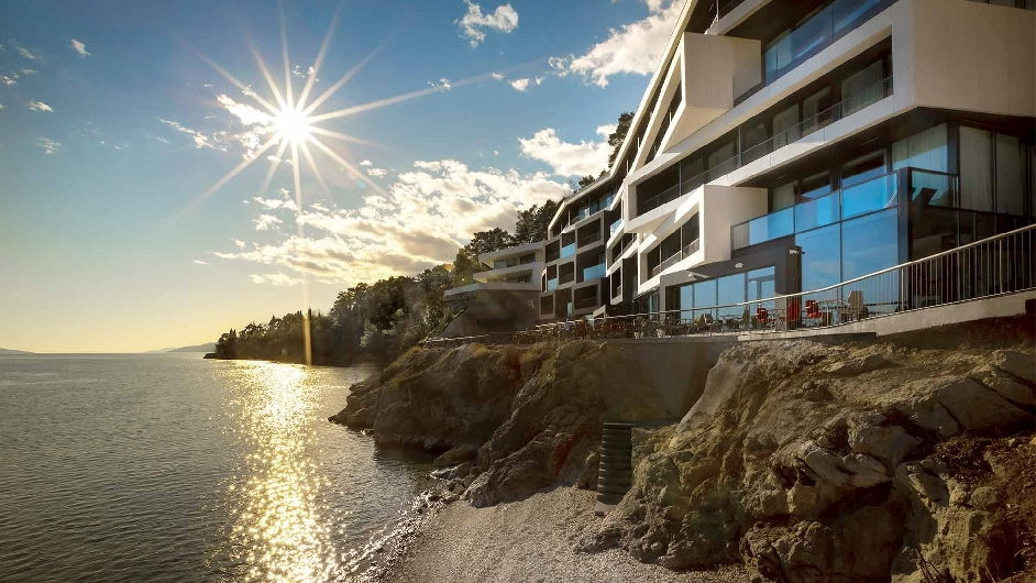 opatija spa resort with private beach design hotel navis