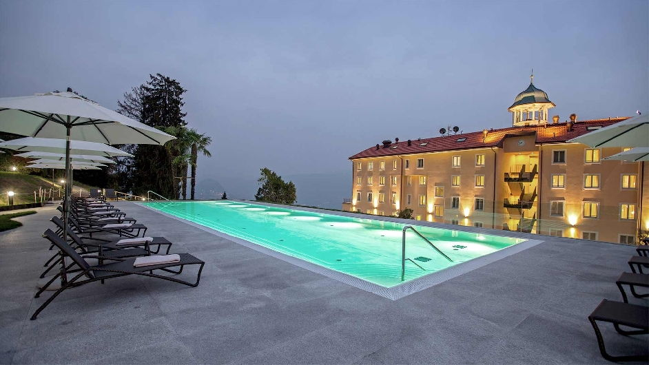 Four Star Hotel In Lugano With Lakeview Kurhaus Cademario