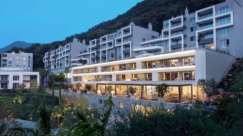 Luxury Boutique Hotel In Lugano With Spa The View